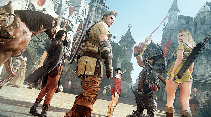 Black Desert gameplay, mount combat blackdesert mmo warrior