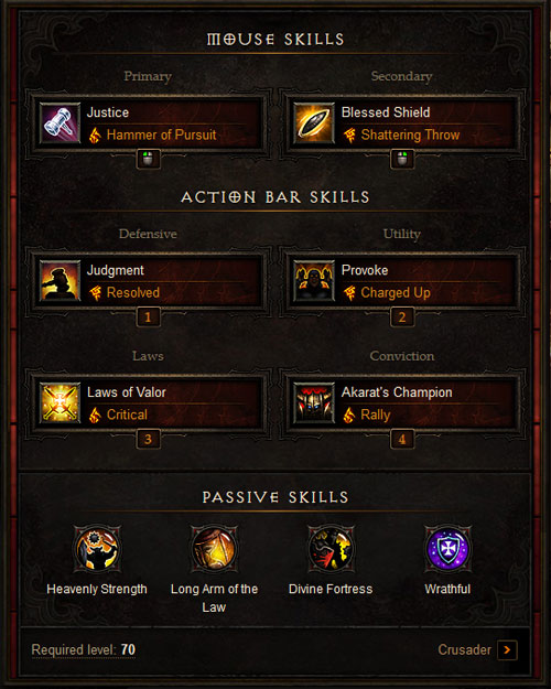 D3RoS_Crusader_Build