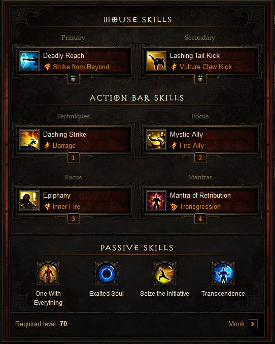 D3RoS_FireMonk_Build