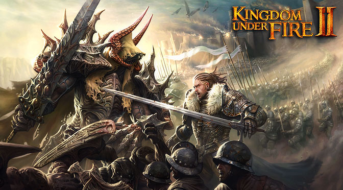 Kingdom Under Fire II – Gameplay Movie of City and Field