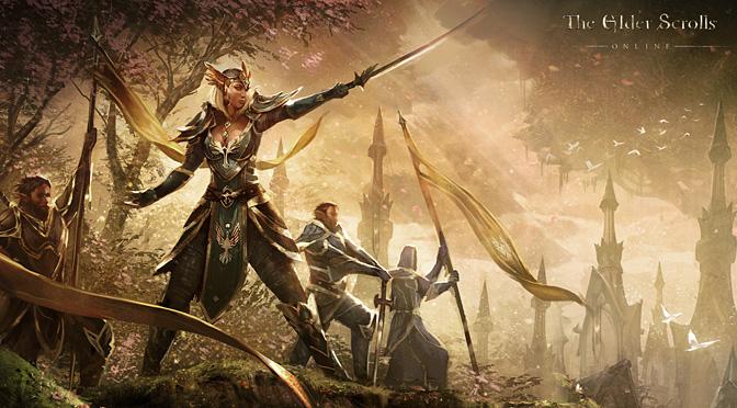 TESO The Elder Scrolls Online – PVP gameplay (beta)