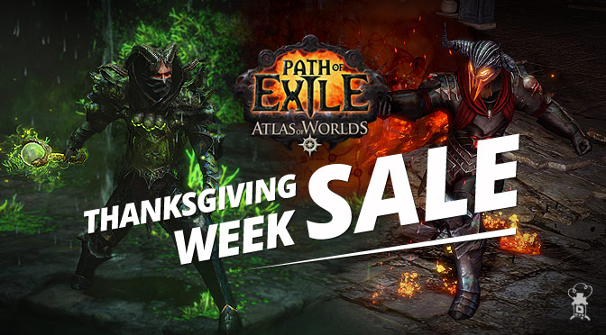 Path of Exile: Thanksgiving Week Sale