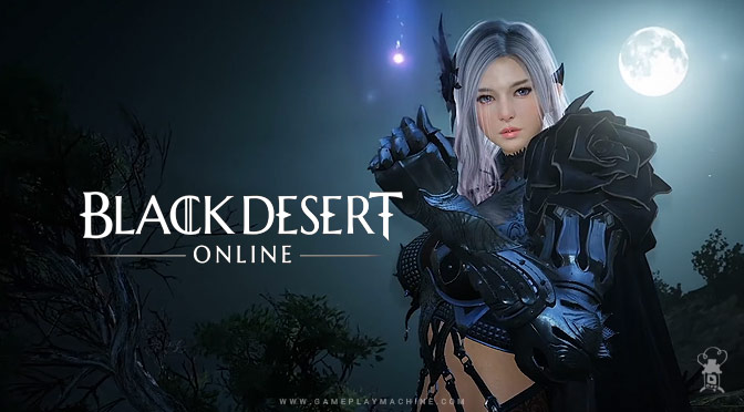 BDO Black Desert Online gameplay Dark knight classes