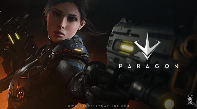 Paragon gameplay, MOBA, Paragon build