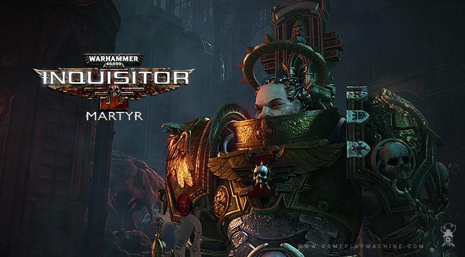 W40K Inquisitor Martyr Warhammer 40,000 Open world