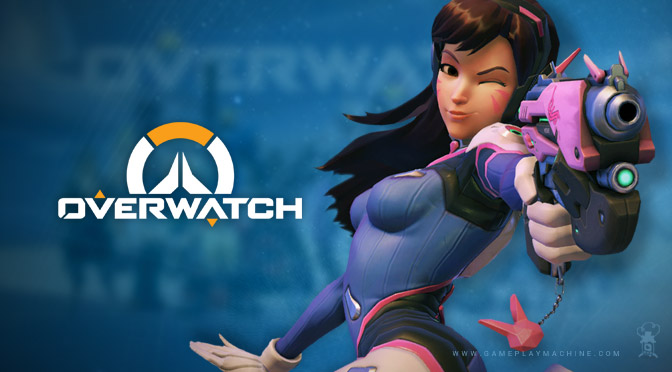 Overwatch D.Va gameplay, OW DVa gameplay, Overwatch Blizzard Video Game