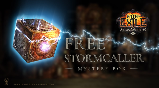 PoE Mystery Box, Path Of Exile Free Box, PoE Christmas, pathofexile box