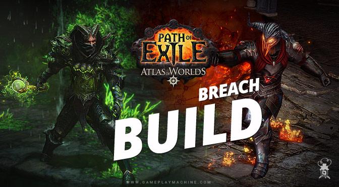 PoE Breach build, PoE, Path of Exile, Breach 2.5