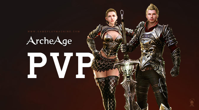 Archeage PvP gameplay, Darkrunner 55lvl, AA gameplay