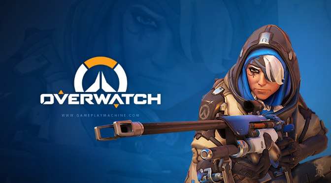 Overwatch Ana healing gameplaymachine.com Ana gameplay