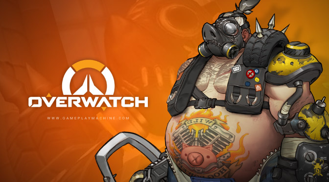 Overwatch Heroes Roadhog, Roadhog gameplay, Overwatch Roadhog, play Overwatch, Roadhog hook