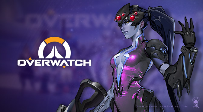 Overwatch Widowmaker gameplay, OW Widowmaker, Overwatch Blizzard Video Game