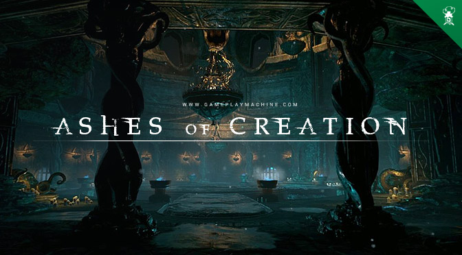 Ashes of Creation AoC MMORPG sandbox open world