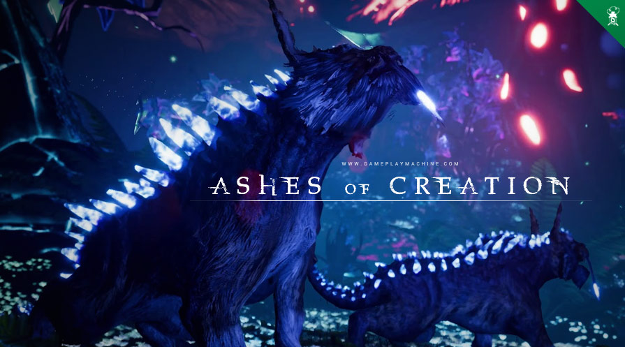 Ashes of Creation UnderRealm AoC GameplayMachine.com Sandbox Open World MMO RPG