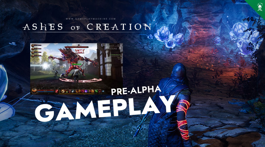 Ashes of Creation AoC Sandbox Open World MMO RPG Gameplay