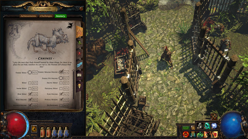 Path of Exile PoE Bestiary league