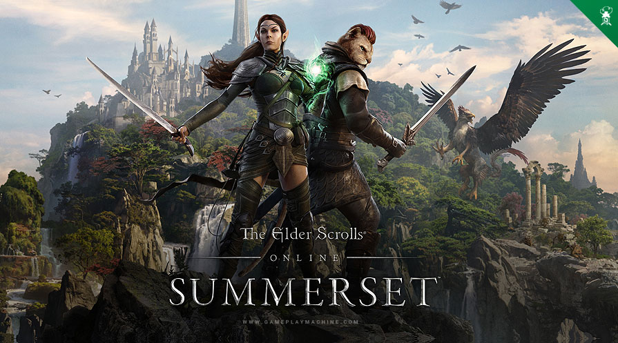 The Elder Scrolls Online TESO Summerset ? Gameplay