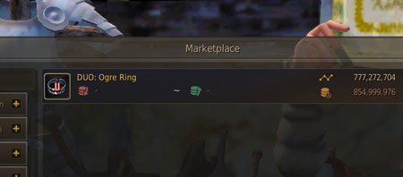 DUO Ogre Ring BDO