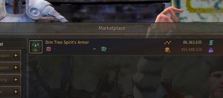 Dim Tree Spirit's Armor BDO