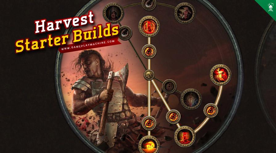 Berserker Harvest League 3.11 Path of Exile PoE Build Best Starter