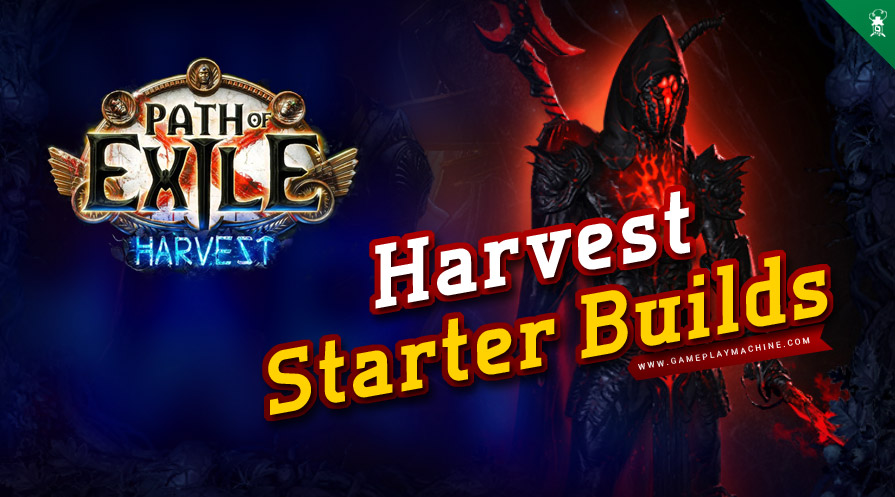 Path of Exile Harvest 3.11 League Starter Build Starting Builds PoE Best