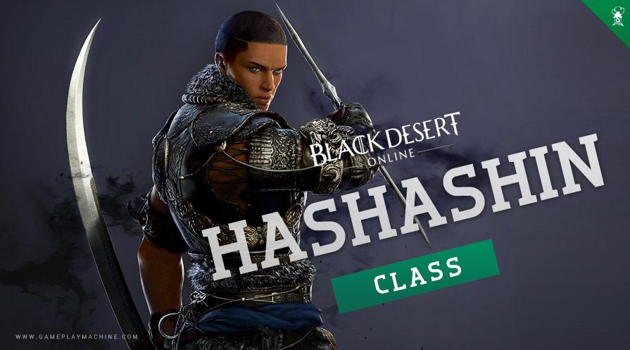 Black Desert Online Hashashin New Class