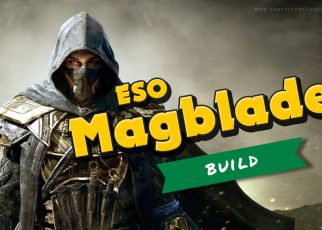 The Elder Scrolls Online Magicka Nightblade Build Guide for Greymoor / Stonethorn Patch ESO Magblade