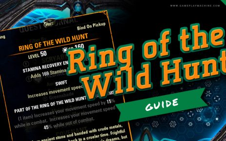 ESO Elder Scrolls Online How to get Ring of the Wild Hunt mythic