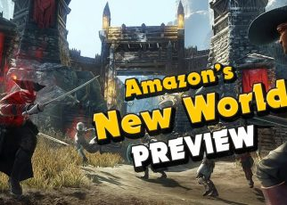 New World Amazon Games Studio MMO RPG first impressions gameplay preview