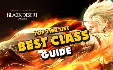 BDO Class guide! What class to play? Black Desert starter class tier list, best class to play in BDO