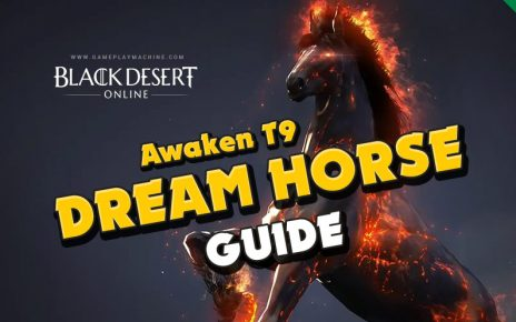 Black Desert T9 Doom horse, breed horses in BDO, how to get dream horse, failstacking horse skills
