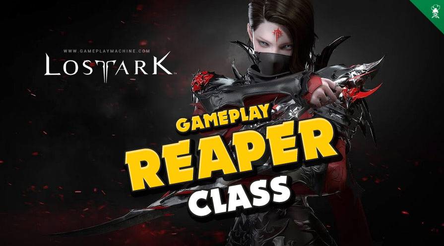 Lost Ark MMORPG Reaper assassin. Lost Ark classes REAPER Gameplay