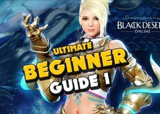 Black Desert Online ULTIMATE Beginner Guide. BDO How to start, how to level up to 61