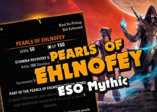 Elder Scrolls Online Markarth ESO Guide Pearls of Ehlnofey Leads locations Mythic Necklace. How to get mythic necklace guide.