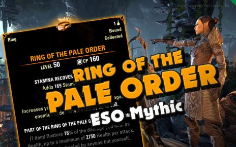 How to get ESO new mythic item Ring ot the Pale Order Elder Scrolls Online mythics scrying Excavation Antiquities. Elder Scrolls Markarth the pale order ring