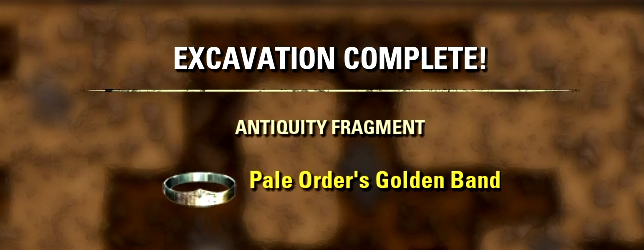 ESO Elder Scrolls Online ESO Ring of the Pale Order mythic new ring DLC Markarth Lead Locations Pale Order's Golden Band
