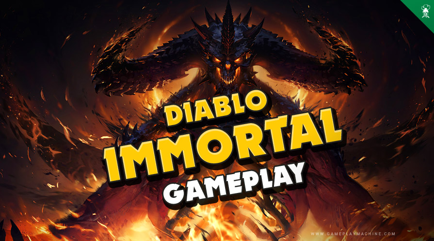 Diablo Immortal Gameplay p2w? Mobile Diablo game