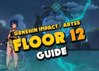 Genshin Impact Abyss floor 12 guide f2p characters how to beat! GI gameplay Abyss floors