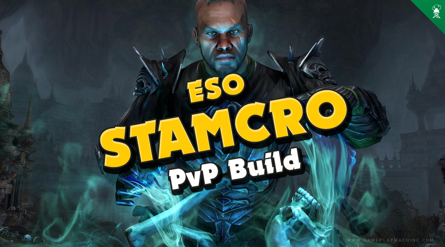 ESO - Stamina Necromancer PvP Build 2021 Stamcro Necro build guide