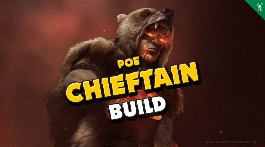 Path of Exile Marauder Build, best starter build PoE, Chieftain Marauder build, path of exile skill tree, PoE Marauder Warchief
