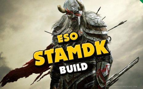 StamDK PvP Heavy Tanky Build ESO Elder Scrolls Online Stamina Dragonknight StamDK PvP Build Guide