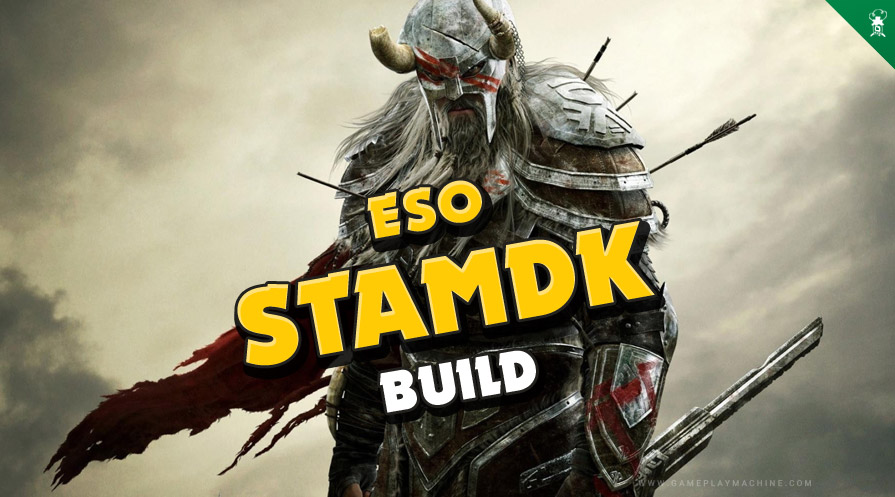 StamDK PvP Heavy Tanky Build ESO Elder Scrolls Online Stamina Dragonknight StamDK PvP Build Guide