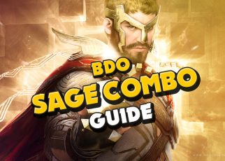 BDO SAGE Succession Guide Combo Black Desert Online Tutorial How to play Sage Skills