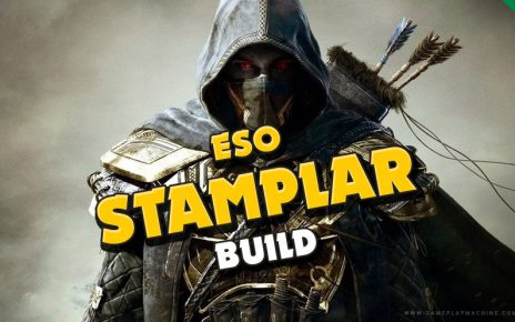 ESO The Elder Scrolls Online Stamina Templar Stamplar DPS PvE Build Guide New racials Races ESO