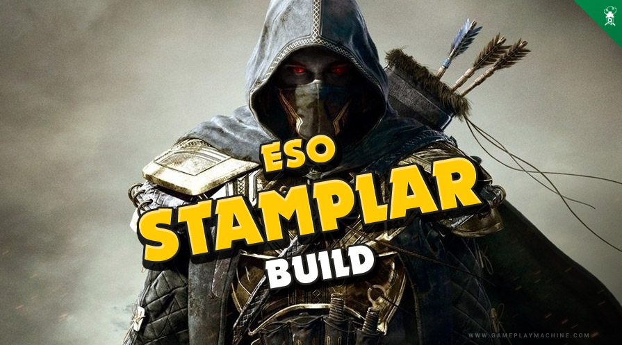 ESO The Elder Scrolls Online Stamina Templar Stamplar DPS PvE Build Guide New racials Races ESO
