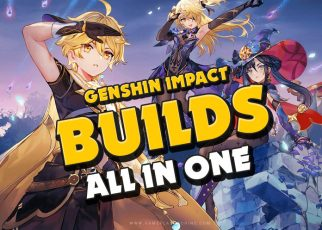 Genshin Impact Builds for any character, artifact sets, best weapons, Diluc, keqing, Ganyu, Xiao and more