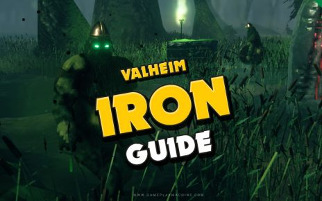 How to get iron in Valheim. Iron Pickaxe, Iron Axe, Stone bench, Muddy Scrap Piles in the Sunken Crypts