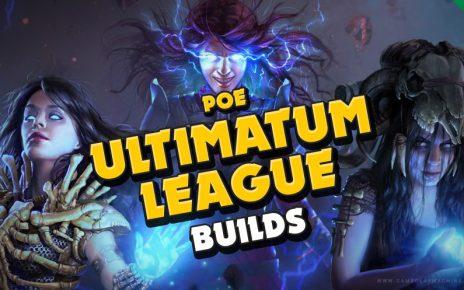 Top 5 build for league starters Ultimatum League PoE Path of Exile