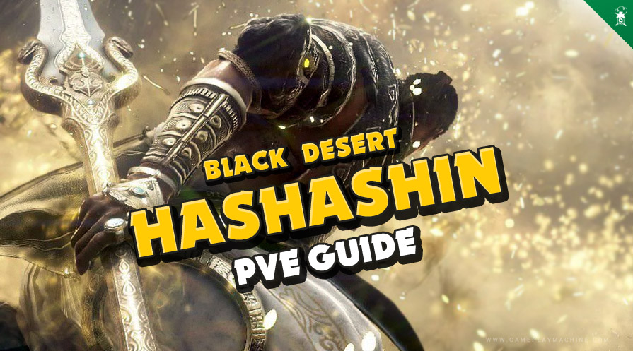 Hashashin grind mobs fast! Best spot, combo guide, addons, BDO Hashashin PvE build guide.