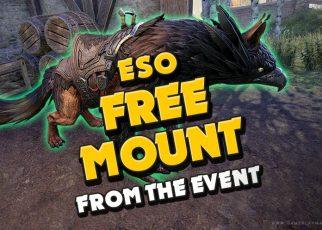 amazing mount for free blackwood ESO Elder Scrolls Online, mounts, heavyweights